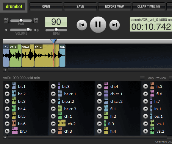 image thumb102   Drumbot: Set of Free Online Tools For Musicians