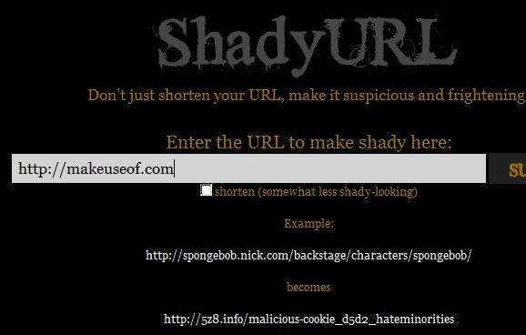shorten your url
