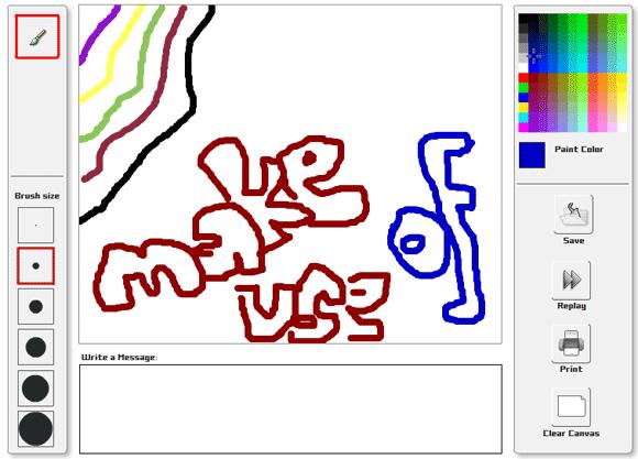 Canvastic Fun Online Paint App