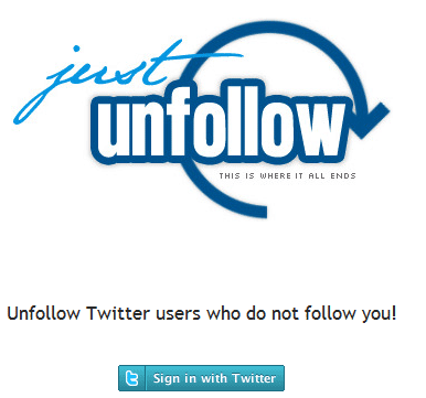 unfollow twitter users