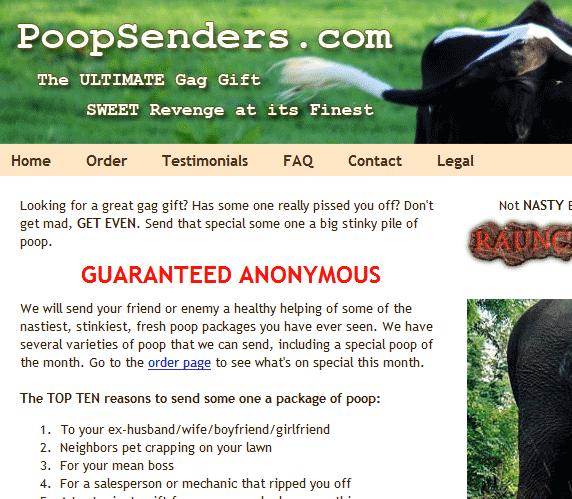 image thumb118   PoopSenders: Send A Poop As A Gift