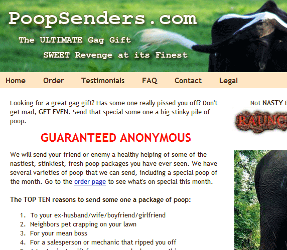 image thumb118   PoopSenders: Send A Poop As A Gift