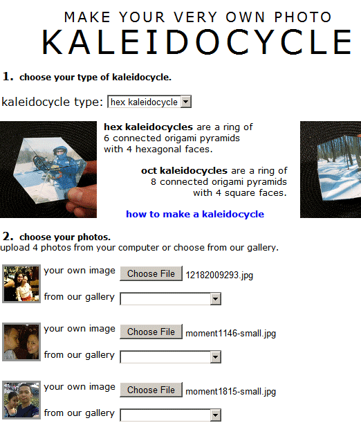 kaleidocycle