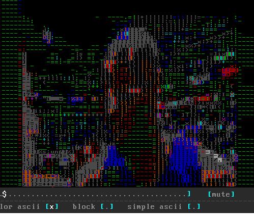 view ascii code