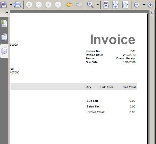 instant invoice