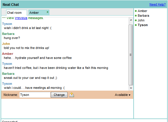 quick chat rooms
