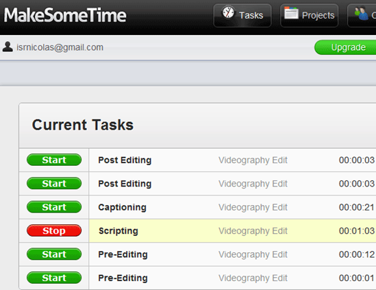 time tracking and invoicing