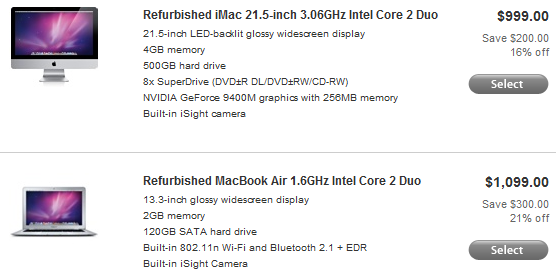 cheap Mac computers