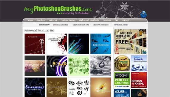 6 Best Sites To Download Free Photoshop Brushes myphotoshopbrushes