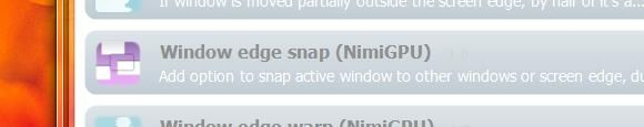 Windows 7 snap feature