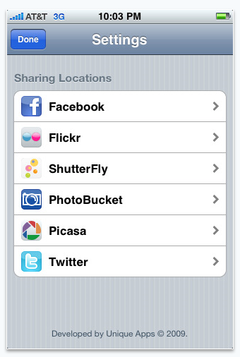 upload photos from iphone