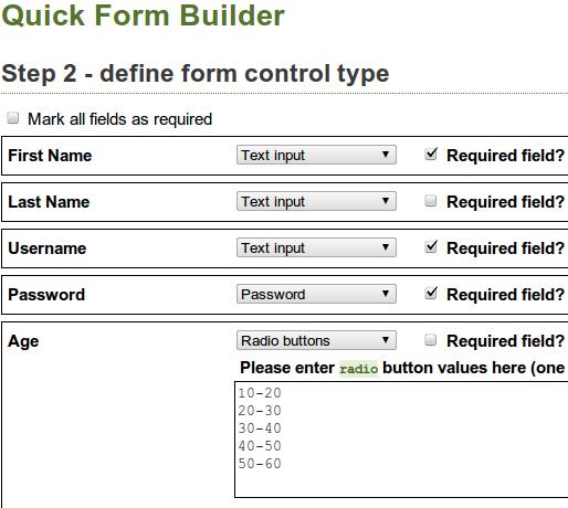 online html form builder