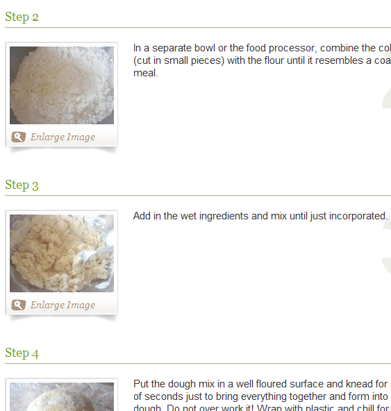 step by step recipes with pictures