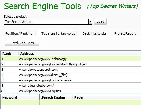 seo website tools