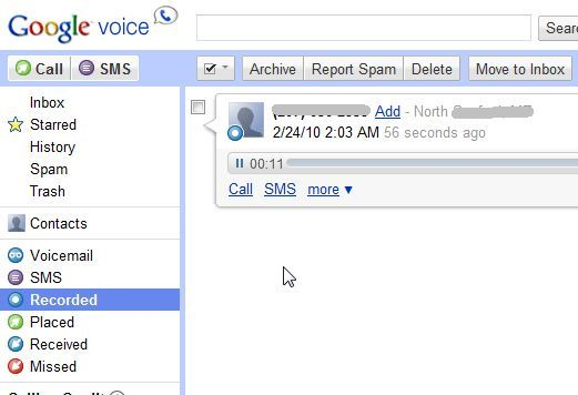 5 cool things you can do with google voice yup record it which brings me to the next cool google voice feature recording phone calls for interviews police interrogations or simply to have a m4hsunfo