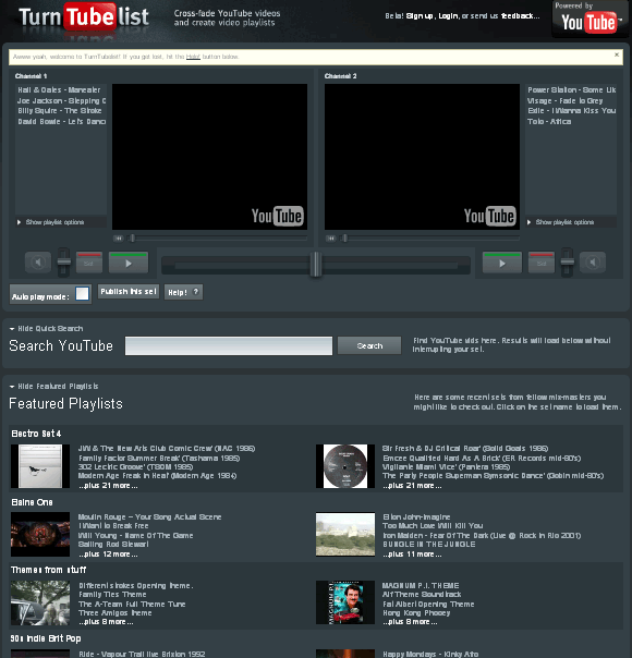 youtube music mixer