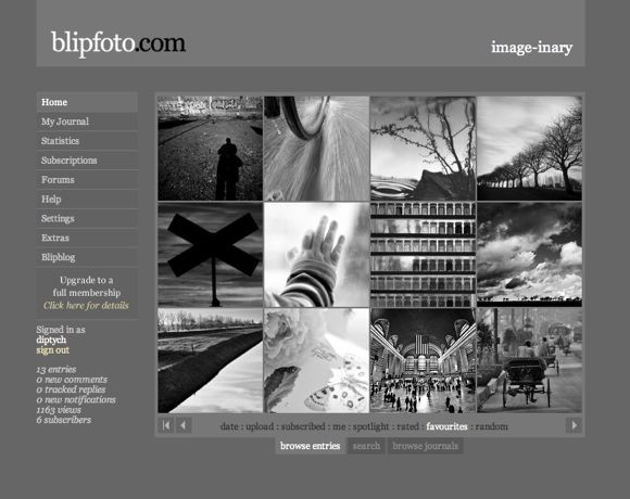 Top 4 Photo Websites To Share One Photo Everyday BlipBrowse