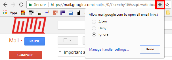 How to Use Gmail Like a Desktop Email Client in 7 Simple Steps Chrome Protocol Handler