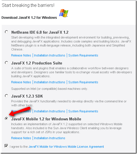 Java for Windows Mobile