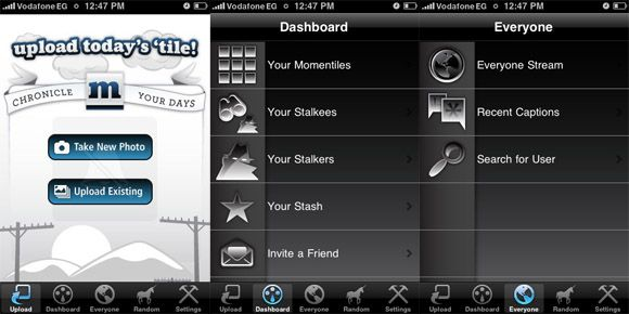 Top 4 Photo Websites To Share One Photo Everyday Momentile iPhone