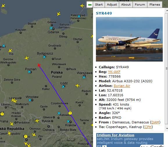 air traffic in europe