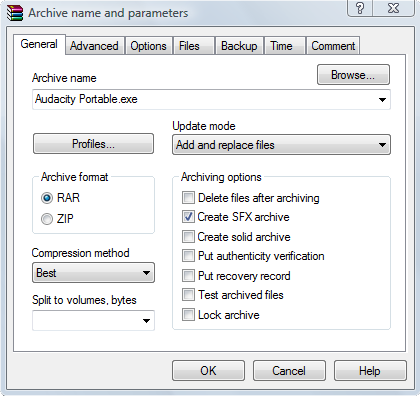 how to create a portable app for flash drive