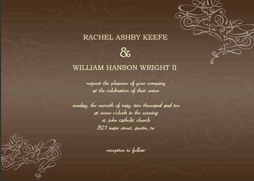 free wedding announcements online