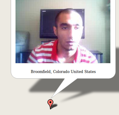 chatroulettemap1   ChatRouletteMap: Reveals The Location Of Anonymous ChatRoulette  Users