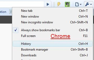 To Catch A Snoop: How To Tell If Someone Has Been On Your Computer chrome history