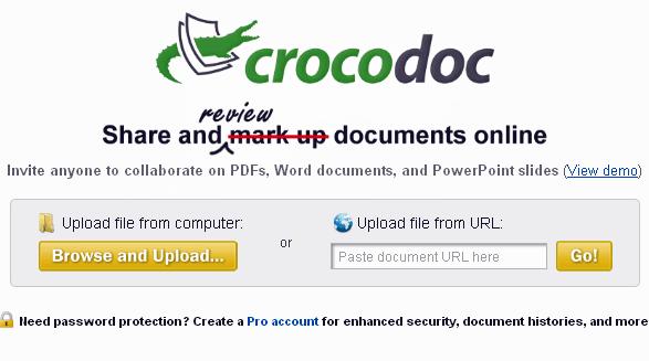 mark up document