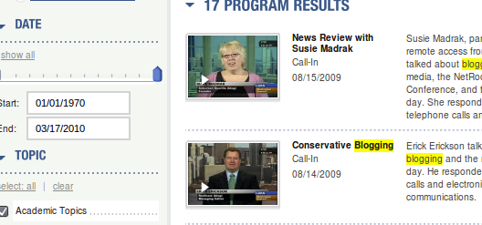 c-span video archives
