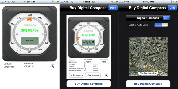 iphone compass app