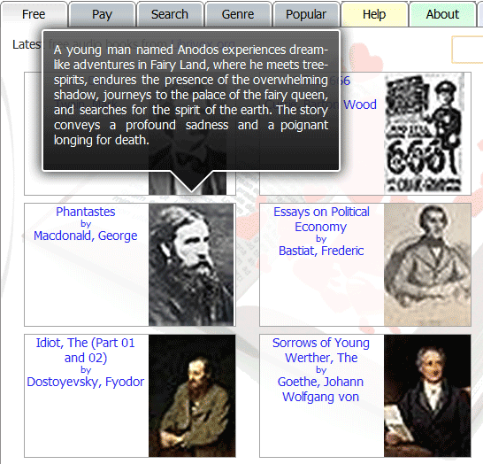 image thumb108   Librophile: Free Audio Books For Download & Streaming