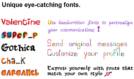 creative fonts online