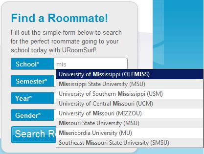 find college roommates