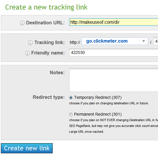link tracking tool