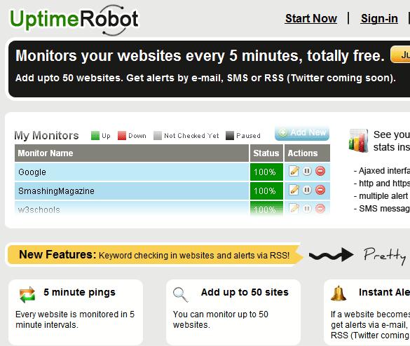 uptime robot