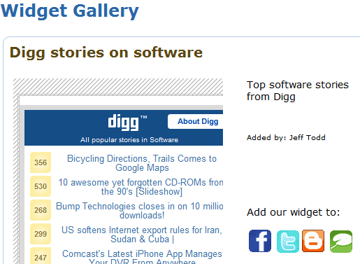 make desktop widget