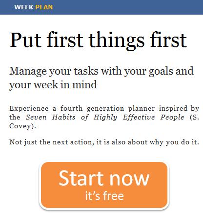 image thumb80   WeekPlan: Weekly Task Planner With Goals In Mind