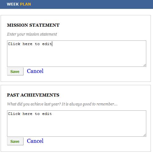 weekly task planner