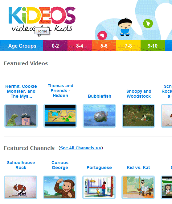 kid friendly videos