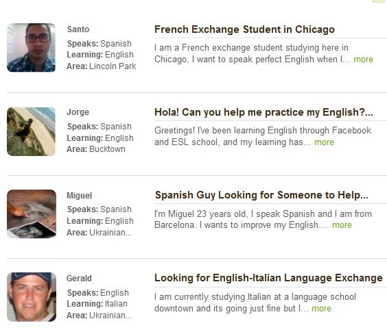 LingoMatch: Find A Language Exchange Partner In Your Area lingo