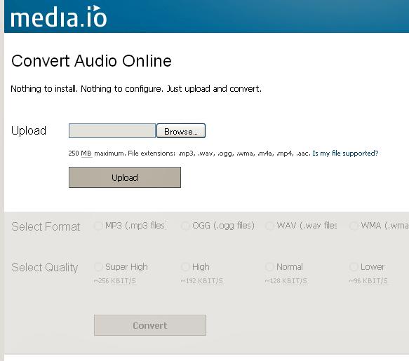 audio to mp3