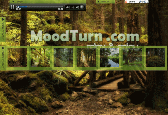 moodturn   MoodTurn: Relaxing Images Slideshows With Cool Sounds
