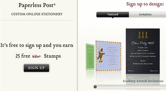 custom online stationery