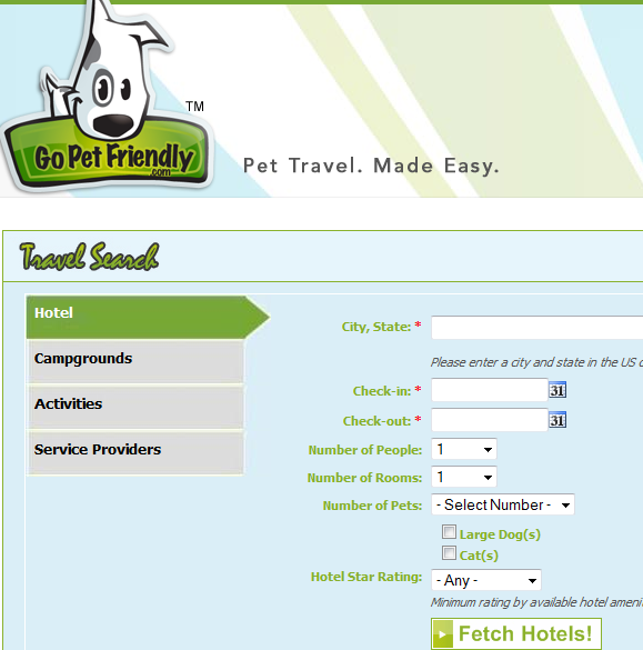 pet   GoPetFriendly: Find Pet Friendly Places While Traveling