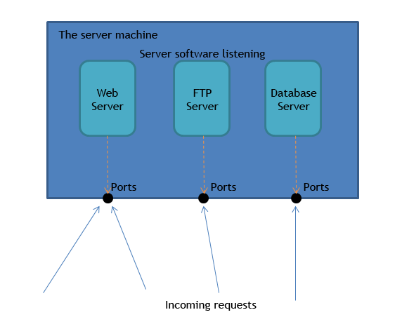 definition of client server network