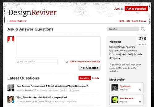 how to create q&a website