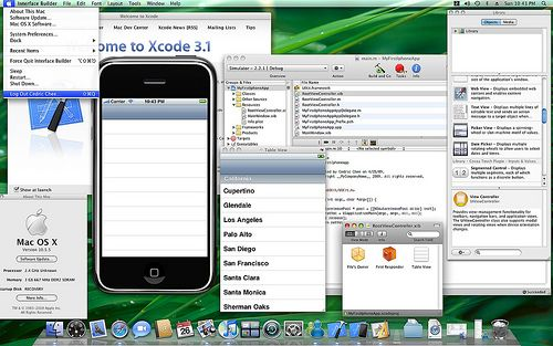 How To Develop A Simple iPhone App & Submit It To iTunes sim