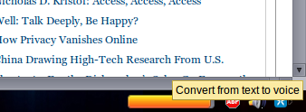 texttospeech1   Text To Voice: Firefox Extension Vocalizes Highlighted Words